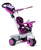 Транспорт для детей «Smart Trike» (8000200) трёхколёсный велосипед Dream 4 в 1, цвет розовый