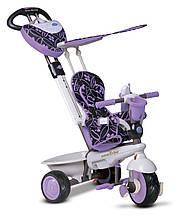 Трёхколёсный велосипед Dream 4 в 1, цвет сиреневый, Smart Trike (8000700)