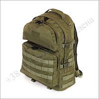 Тактический рюкзак 40 литров олива для военных, армии, туризма нейлон