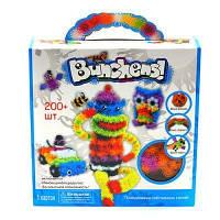 Детский  конструктор репейник Bunchems 200 предметов, шарики липучки Банчемс, фото 1