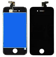 Дисплей (экран) для Apple iPhone 4 + с сенсором (тачскрином) черный Original