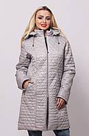 Куртка длинная со съемным капюшоном 40-76 размеры, фото 1