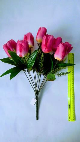 Искусственный букет тюльпанов, фото 2