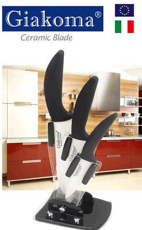 Набір керамічних ножів Giakoma 8143-G 4 предмета, фото 2