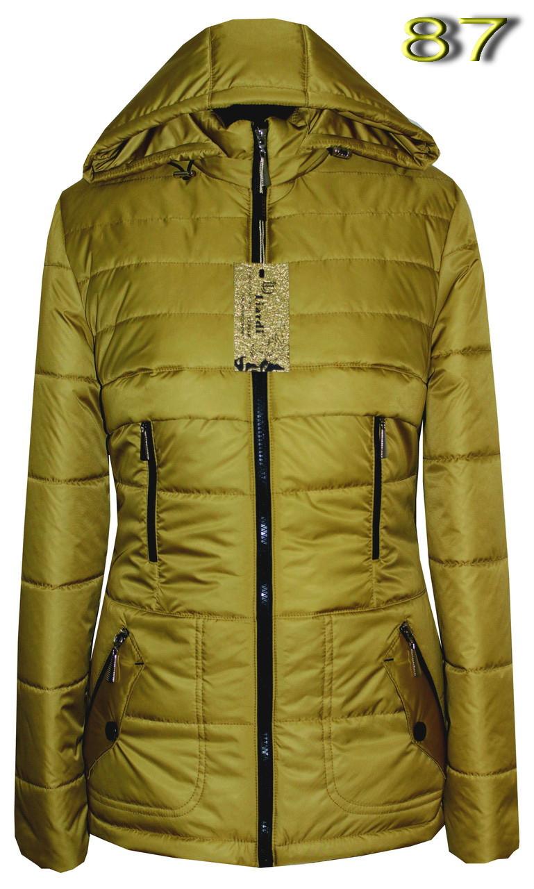 """Женская демисезонная куртка с отстежным капюшоном. 42-56 - Интернет-магазин вышиванок """"Модняшка-2015"""" в Днепре"""