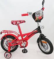 """Детский велосипед 12 дюймов """"Тачки"""" 151220"""