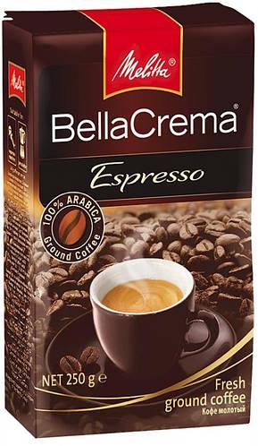 Melitha Bella Crema Espresso 250 грамм молотый