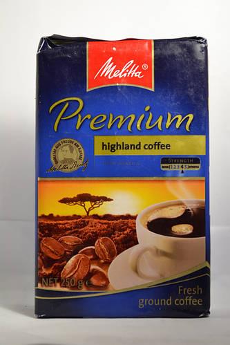 Melitha Premium 250 грамм кофе молотый