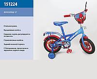"""Детский велосипед 12 дюймов """"Спайдермен"""" 151224"""