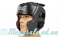 Шлем боксерский в мексиканском стиле Elast 5241 (шлем для бокса), 3 цвета: кожа, M/L/XL, фото 1