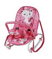 Детское кресло-качалка TOP RELAX Pink Kitten