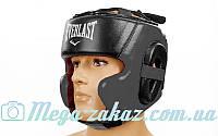 Шлем боксерский в мексиканском стиле Elast 5241 (шлем для бокса), 3 цвета: кожа, M/L/XL