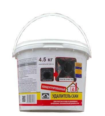 """Засіб для чищення димоходу від сажі """"Ханса"""" 4,5 кг (Литва)"""