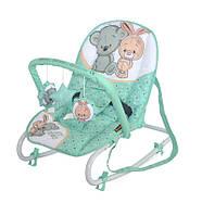Детское кресло-качалка TOP RELAX GREEN&GREY FRIENDS