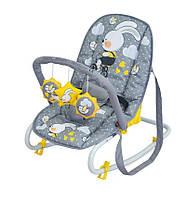 Детское кресло-качалка TOP RELAX GREY RABBIT
