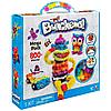 Детский конструктор липучка bunchems банчемс 800 предметов, вязкий пушистый шарик