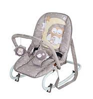 Детское кресло-качалка TOP RELAX BEIGE BUHO