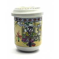 Чашка заварочная с ситом-Гейша вышивает