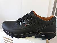 Мужские весенние кожаные туфли