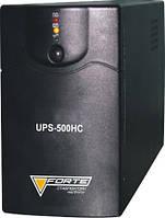 Джерело безперебійного живлення  Forte UPS-500HC