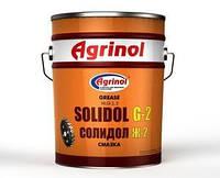 Смазка  Солідол 17 кг Агринол барабан