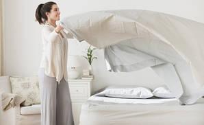 Рекомендации по соблюдении чистоты постельного белья, одеял, подушек и наматрасников.