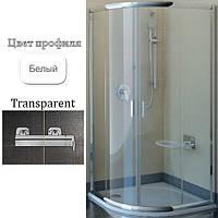 Уголок душевой Ravak BLCP4-80 Transparent+White, фото 1