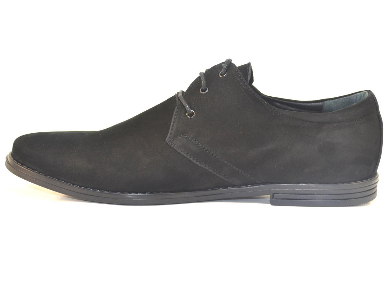 87f02850f ... Обувь большой размер мужской. Туфли кожаные нубук Rosso Avangard Carlo  Attraente Сamoscio Nero NUB, ...