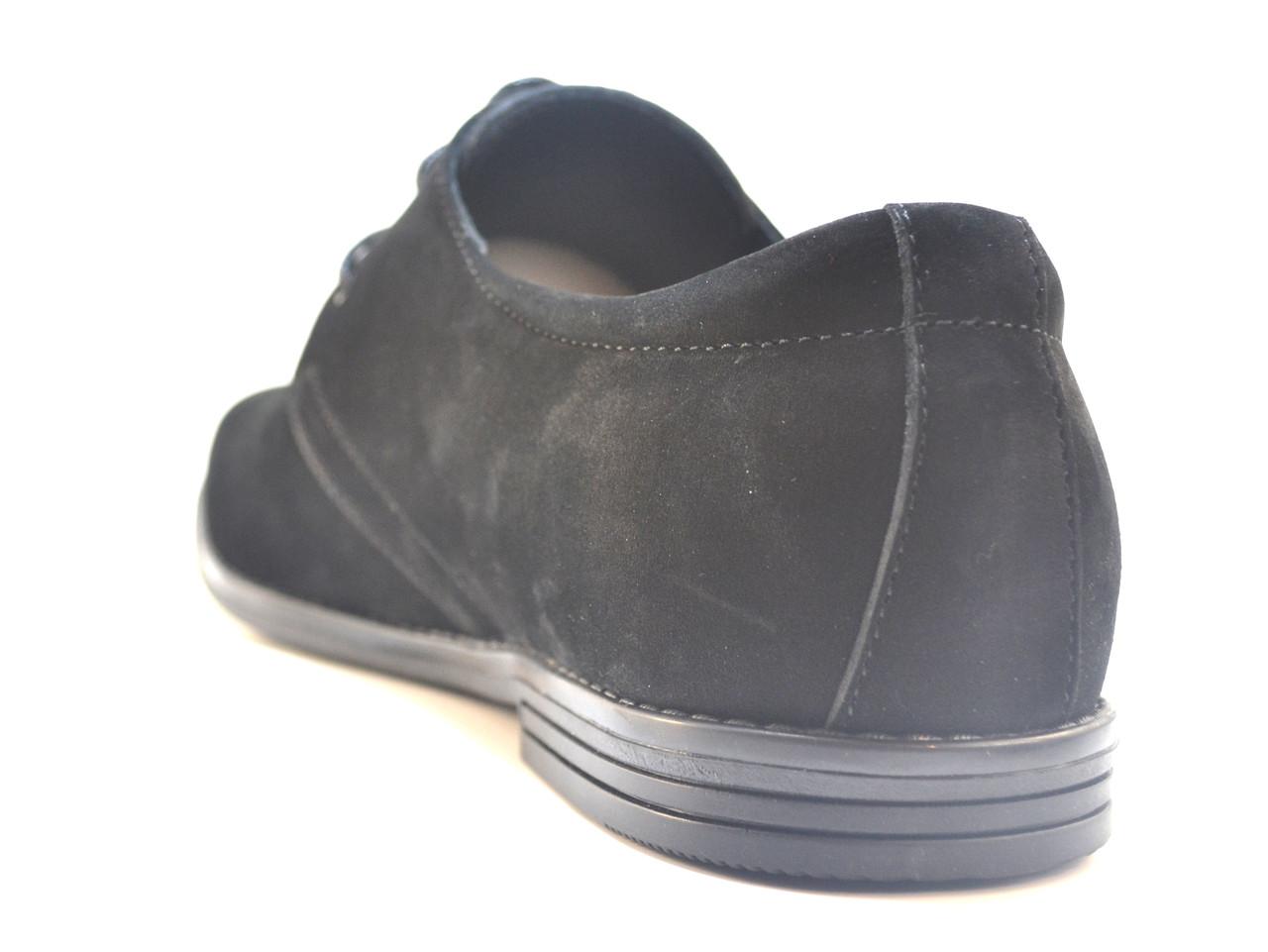 1e1621ac1 ... Обувь большой размер мужской. Туфли кожаные нубук Rosso Avangard Carlo  Attraente Сamoscio Nero NUB,