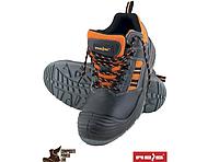 Обувь мужская защитная с кожи типа башмак до щиколотки с подноском Rejs BCL