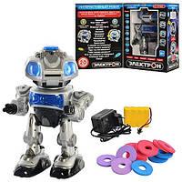 Интерактивный робот Электрон 694686 R/ TT903A, интерактивная игрушка робот