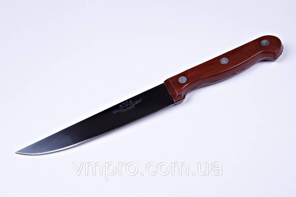 """Нож кухонный """"Рыбка"""",6"""",нож универсальный,25.5 см,ручка под дерево"""