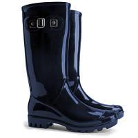 Женские модные резиновые сапоги  р.37 Demar Rainny Lucy B темно-синий