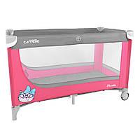 Манеж игровой Carrello Piccolo CRL-7303 Grey+Pink