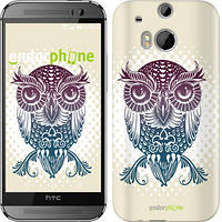 "Чехол на HTC One M8 dual sim Совёнок ""2708c-55"""