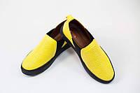 Слипоны женские кожаные / Women's slipons leather