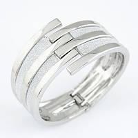 Женский браслет на шарнирах B004765 серебристого цвета