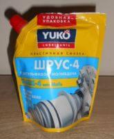 Смазка Шрус-4 с дисульфидом молибдена, 150гр. Производитель:YUKOIL.