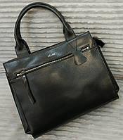 Кожаная сумка Celine Селин черная