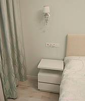 Прикроватная тумба Модена 2а, Ш600мм, Белая (4)