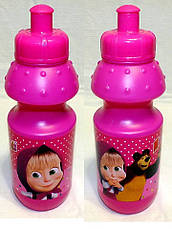 "Набор ""Маша и медведь"" в коробке.  Ланч бокс (ланчбокс) + бутылка, фото 3"