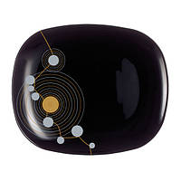 Тарелка десертная LUMINARC SEQUINS Black 190х210мм