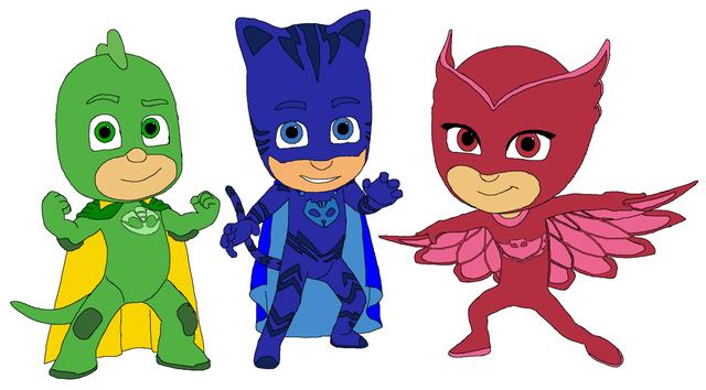 Герои в масках киев,аниматоры pj mascs,маленькие супергерои Алетт, Гекко, Кэтбой детский праздник, подарок