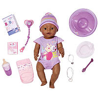 Пупс Мулатка 43 см Baby Born Zapf Creation 822029
