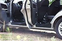 Накладки на внутренние пороги дверей Ford Fusion 2005-2012 г.в. Форд Фьюжн