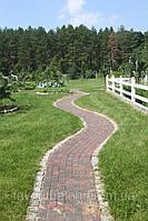 Мощение садовых дорожек. Ландшафтный дизайн.
