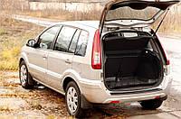 Накладка на задний бампер Ford Fusion 2005-2012 г.в. Форд Фьюжн