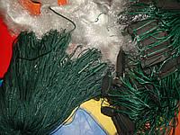 Рыболовная сеть 3 метра ячея 60 мм вшитый груз одно стенка
