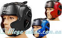 Шлем боксерский в мексиканском стиле Elast 5341 (шлем для бокса): 3 цвета, M/L/XL