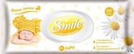 Smile Baby Детские влажные салфетки Ромашка 60шт